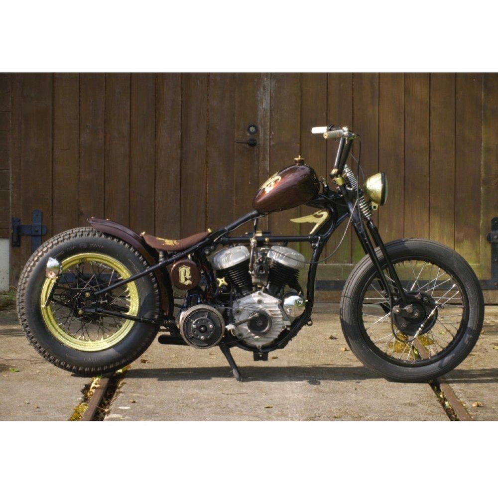 Harley Davidson 1942 Flathead