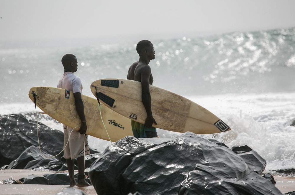 - Profile of the rebirth of a Liberian surf competition in the aftermath of the Ebola crisis for NPR. Published February 2016.