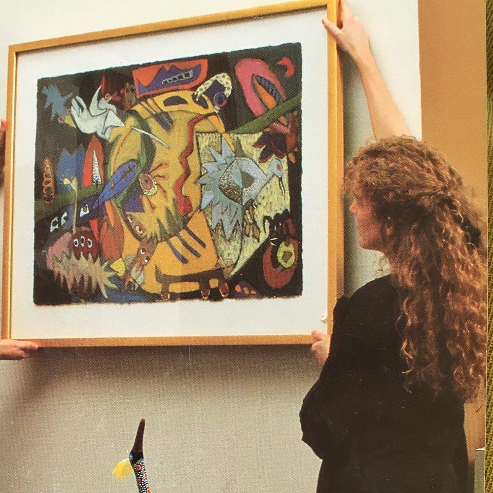 Art curator 1994. -