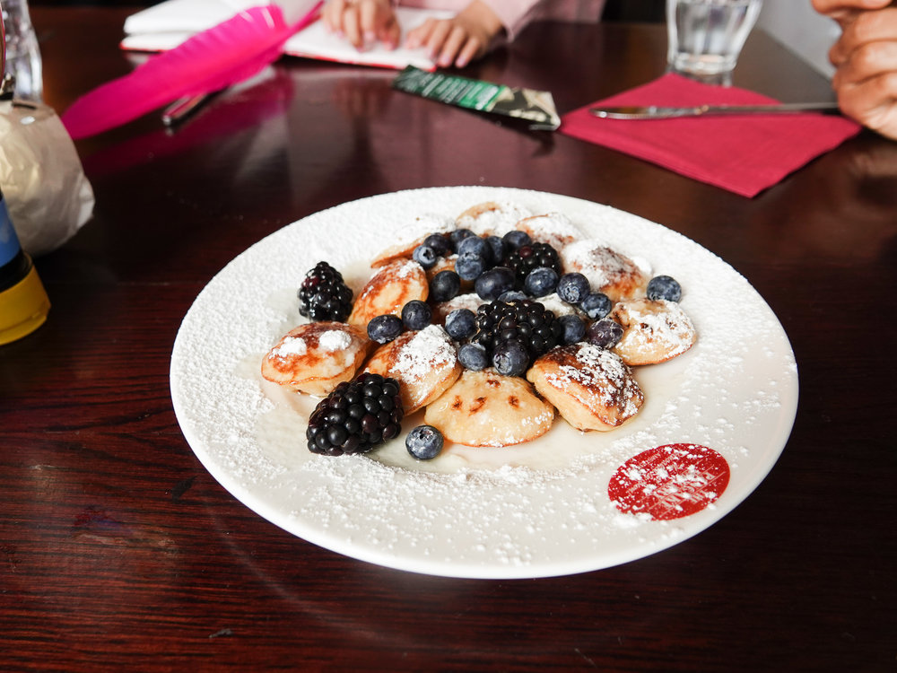 The poffertjes were amazing!