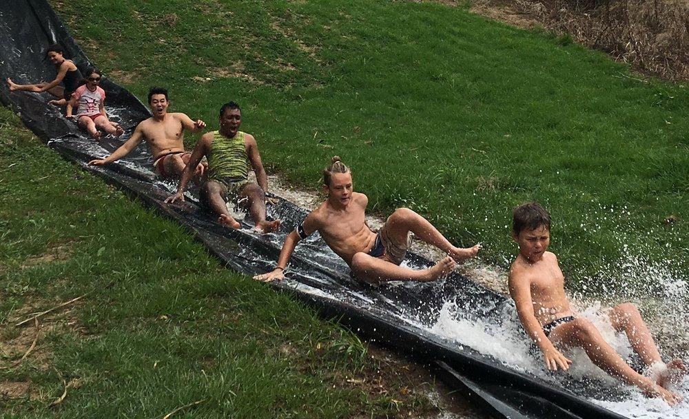 Kids Camp water slide.JPG