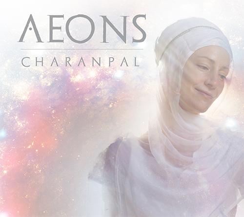 aeons front cover charanpal music album sacred music