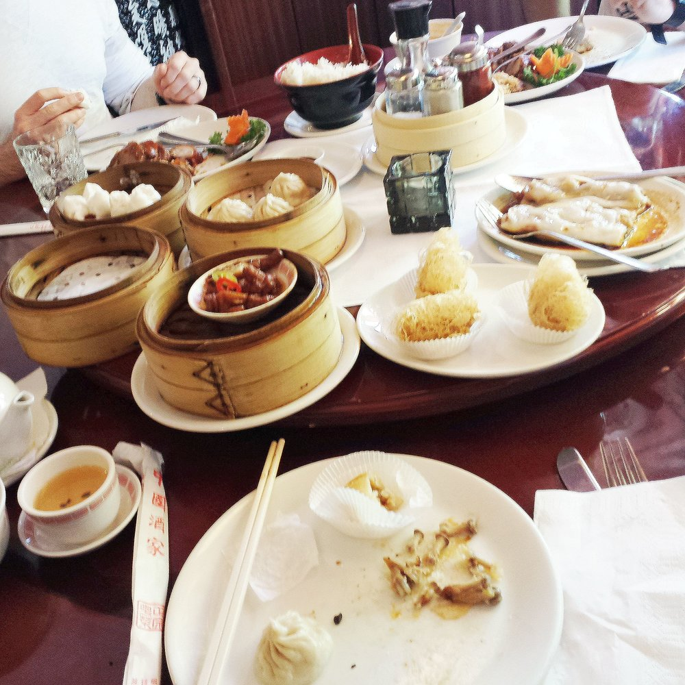 Hamburg Germany Dim Sum Haus Dumplings Chinese Food
