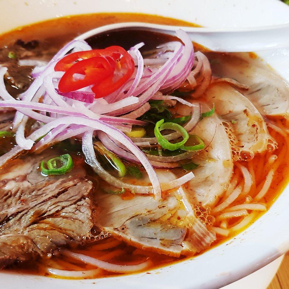 Pho Vietnamese Restaurant Noodle Bar Rotterdam Netherlands bun bo hue soup