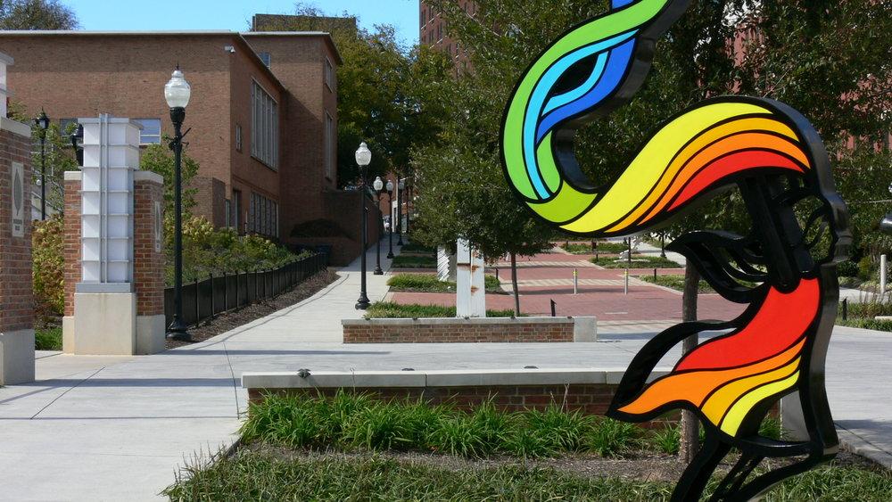 Roanoke Elmwood Park - Art Walk
