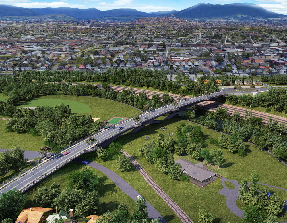 Roanoke Wasena Bridge Replacement - Conceptual Design by Hill Studio