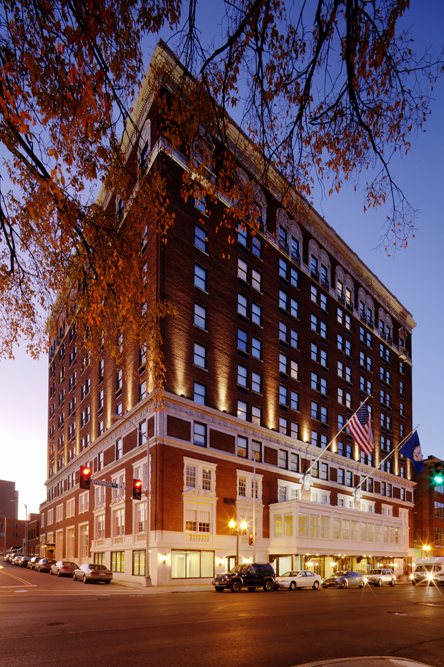 The Patrick Henry Hotel, Downtown Roanoke - Historic Tax Credit Applications by Hill studio