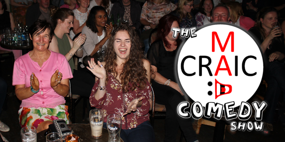 Mad Craic Comedy Tour 2018 - Upcoming Shows throughout the West of Ireland