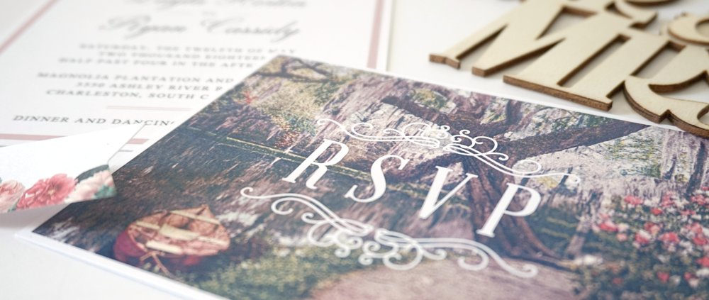 South Carolina wedding invitations | PalmettoStateWeddings.com