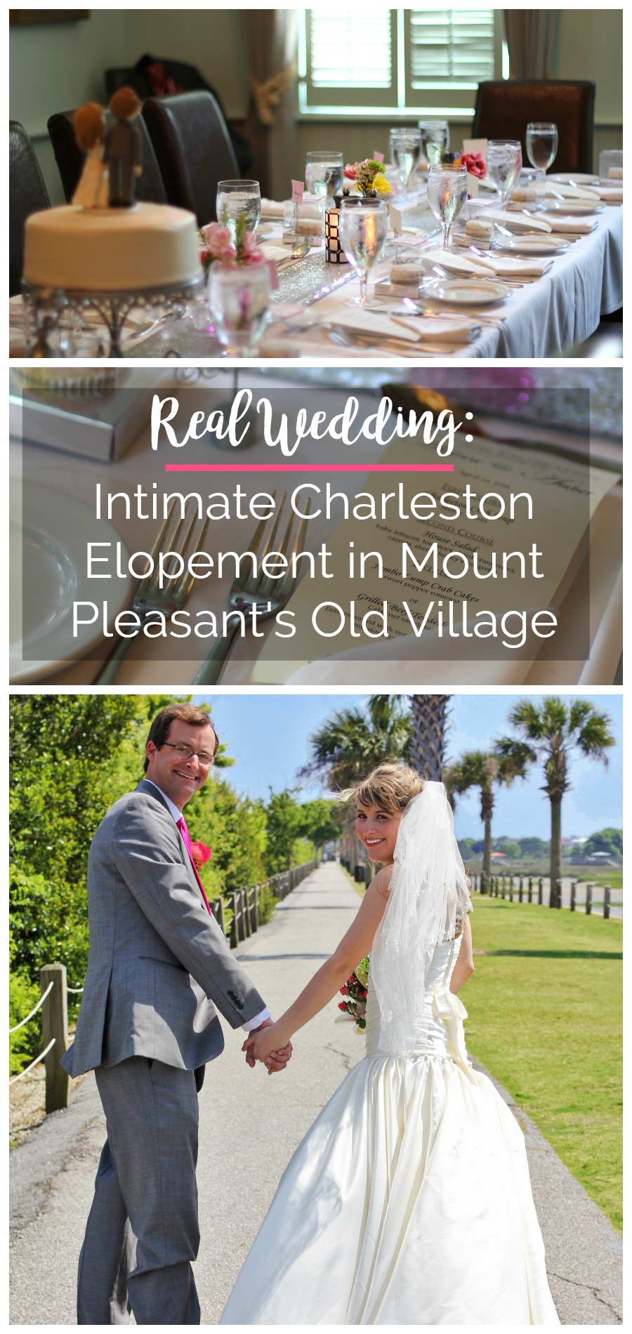 Intimate Charleston Elopement in Mount Pleasant's Old Village | Palmetto State Weddings