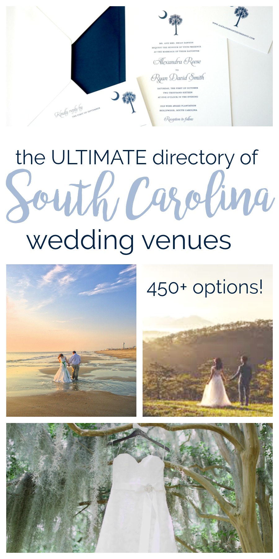 The Ultimate Directory of South Carolina Wedding Venues | Palmetto State Weddings