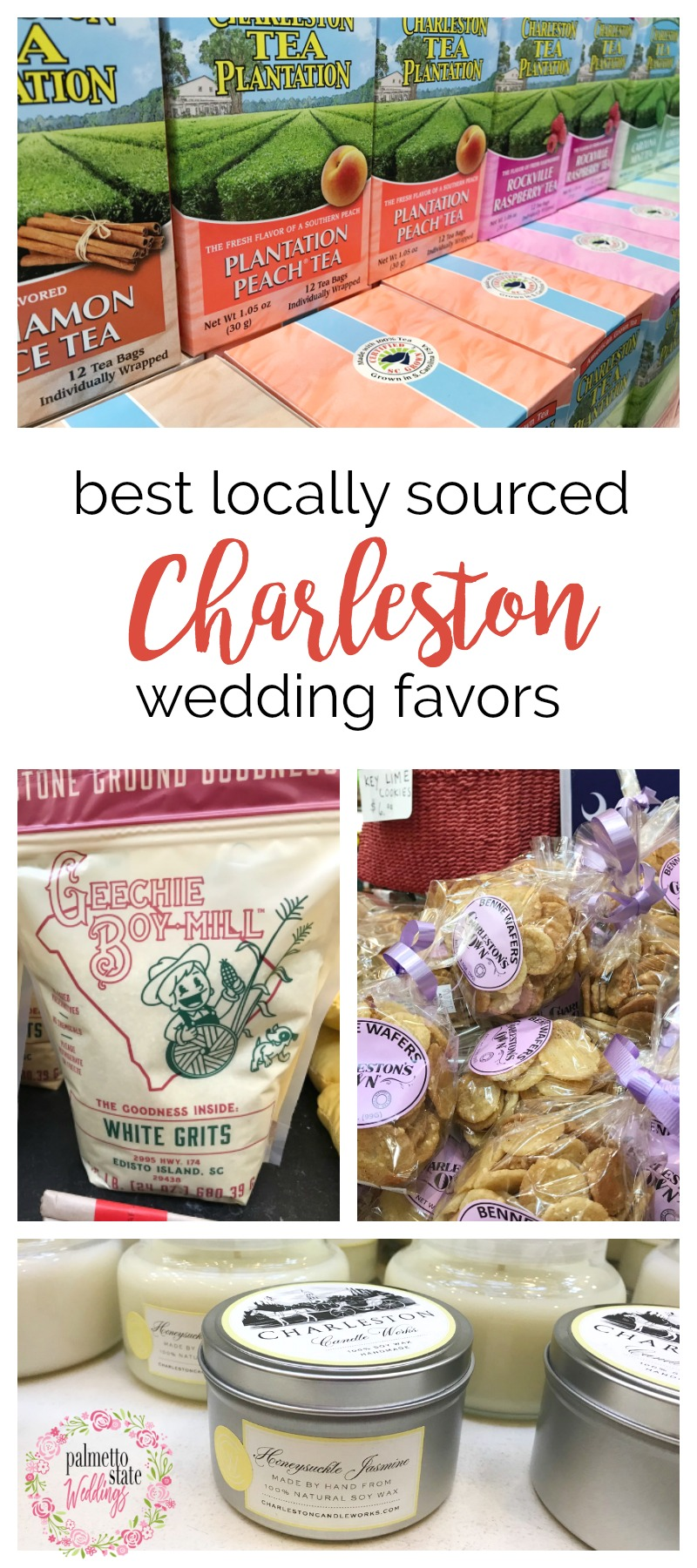 Lowcountry Hospitality: 13 Thoughtful Charleston Wedding Favors | Palmetto State Weddings