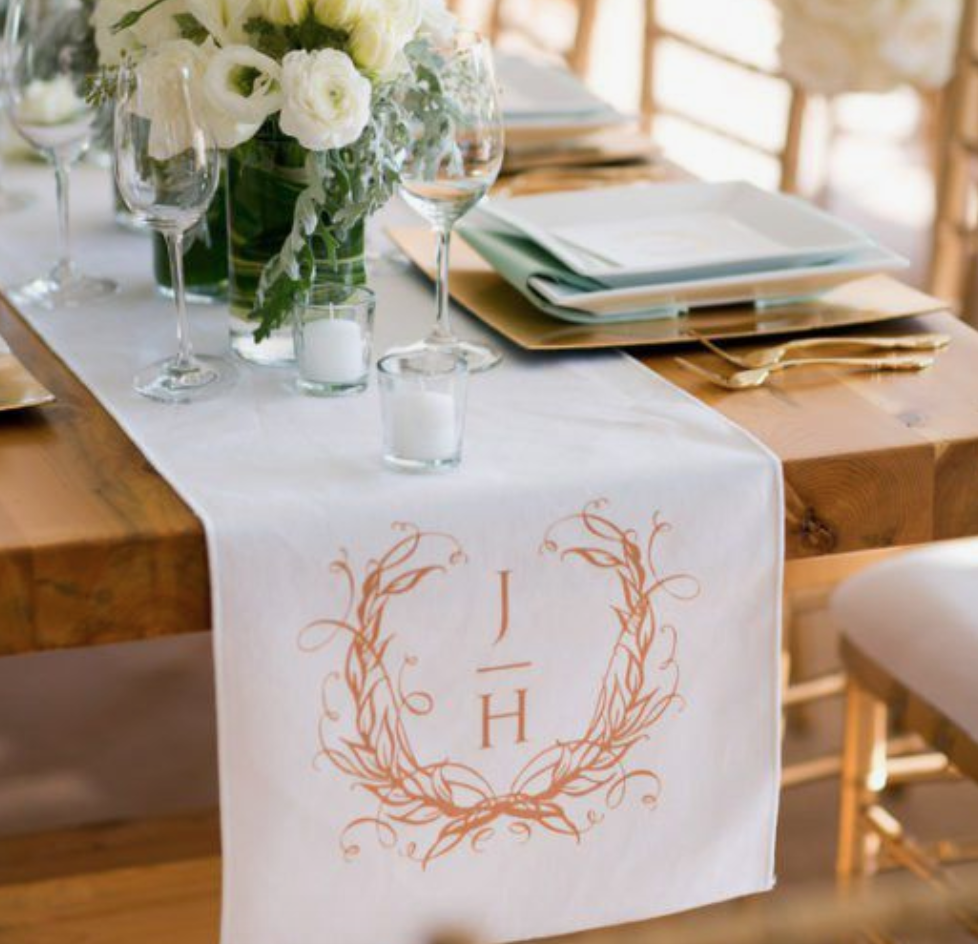 13 Ways to Use Your Wedding Monogram Design | Palmetto State Weddings