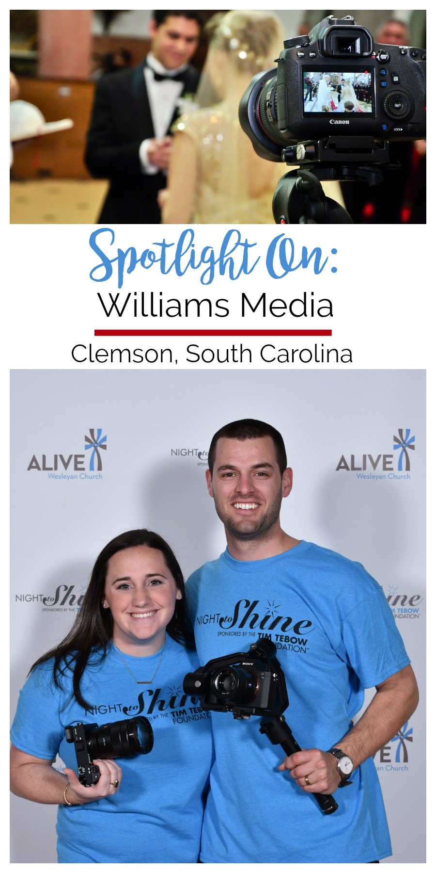 Spotlight On: Williams Media | Palmetto State Weddings