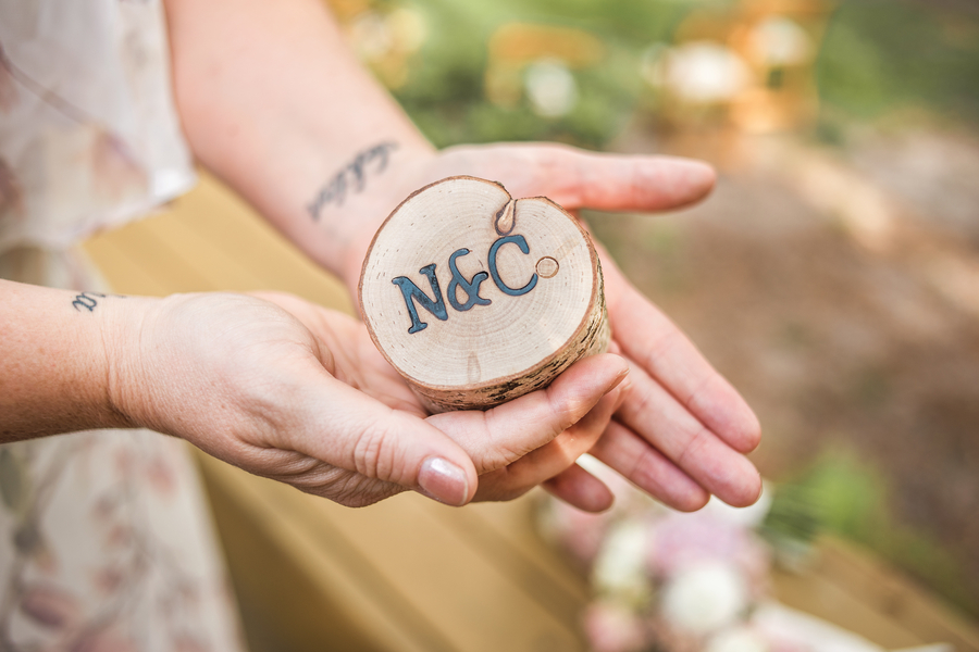 Nikki + Colin: A Lighthearted Backyard Wedding in Bluffton | Palmetto State Weddings