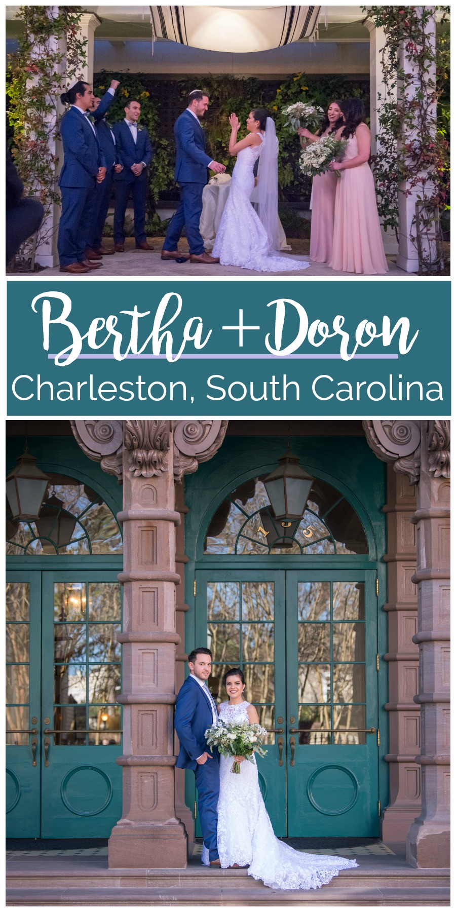 Bertha + Doron: Modern Jewish Wedding at Cannon Green, Charleston, South Carolina | Palmetto State Weddings | Photography by Molly Joseph Photography
