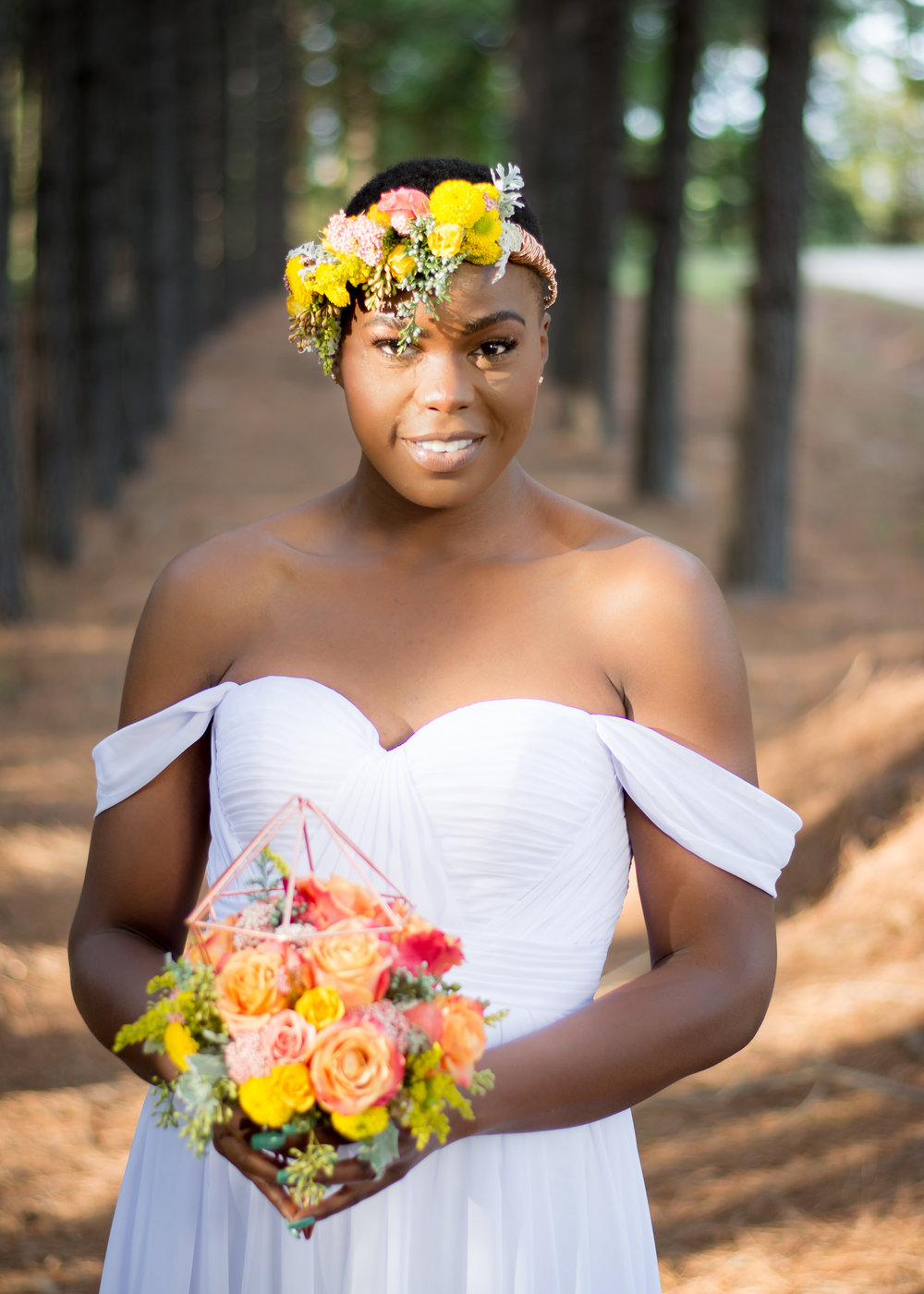 Wedding Inspiration: Vibrant Woodlands Elopement | Palmetto State Weddings