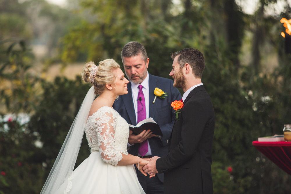 AnnaMaria + Samuel: Captivating Garden Wedding at Magnolia Plantation | Palmetto State Weddings