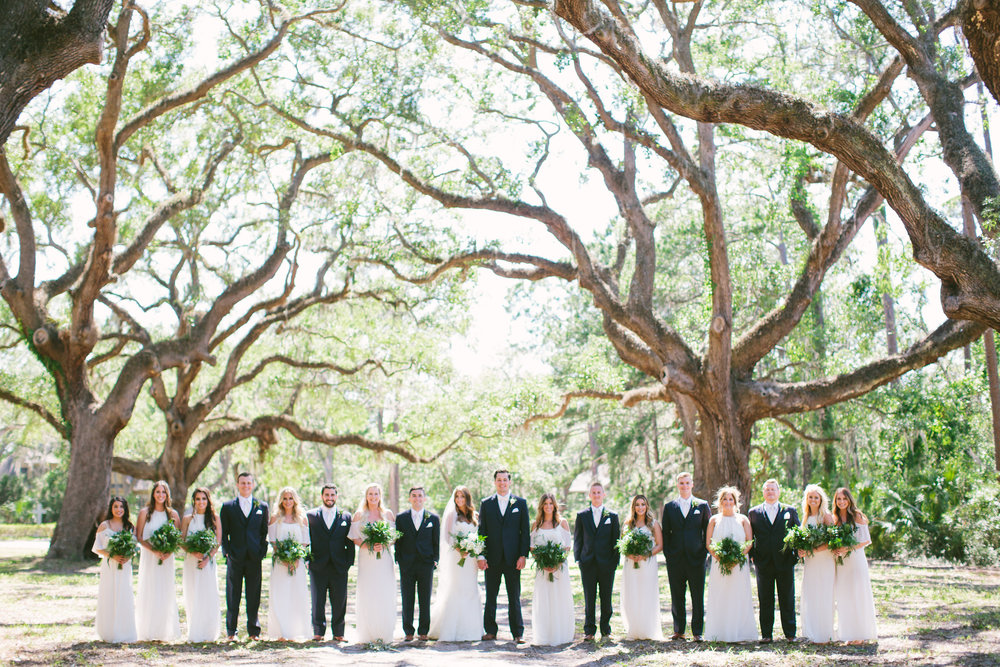 Britany + Zac: Relaxed Lowcountry Wedding at Sea Pines Resort | Palmetto State Weddings