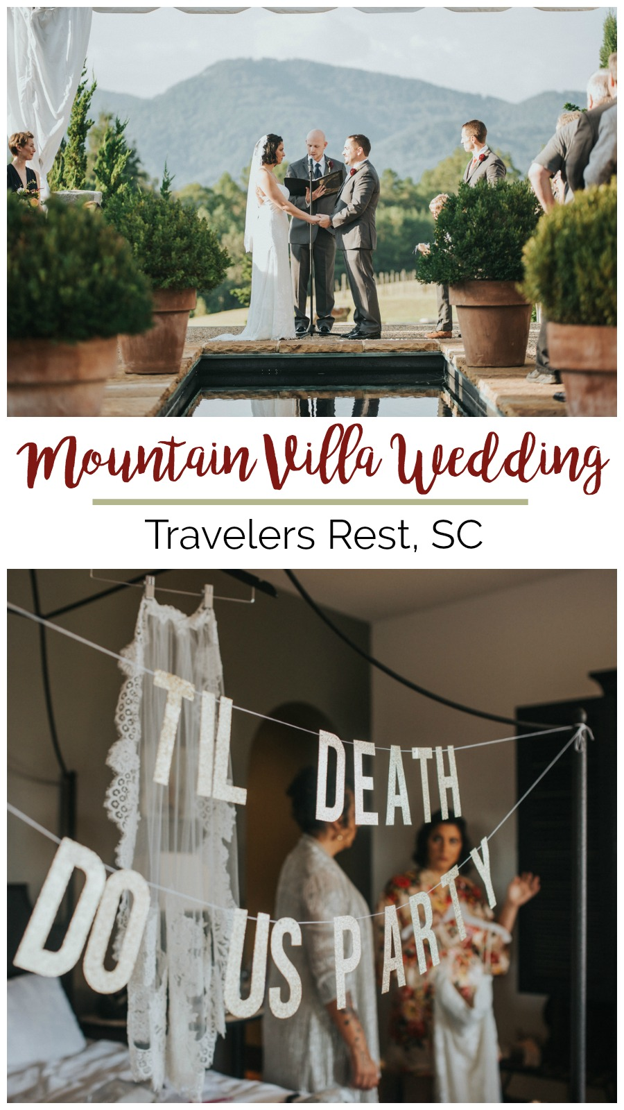 Alix + Ryan: Outdoor Greenville Wedding at Hotel Domestique | Palmetto State Weddings | Photos by Latoya Dixon Photography
