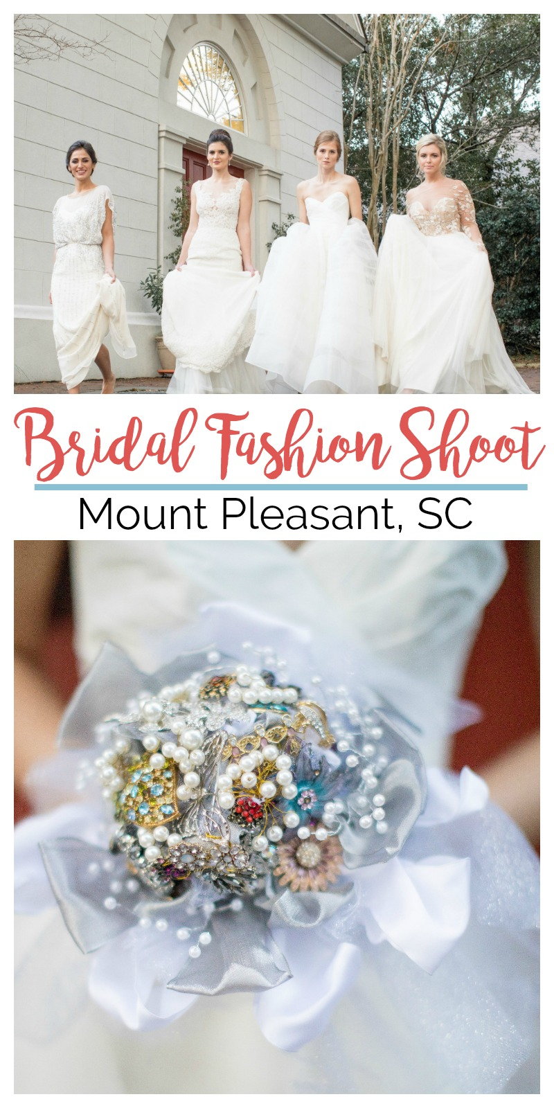 Wedding Inspiration: Bridal Fashion Shoot at Coleman Hall, Mount Pleasant, South Carolina | Palmetto State Weddings | Photos by Kelly Vann Calaway Photography
