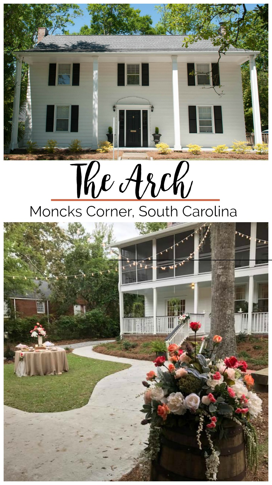 Spotlight On: The Arch, Moncks Corner, South Carolina | Palmetto State Weddings | where to get married in Charleston | Southern historic home weddings