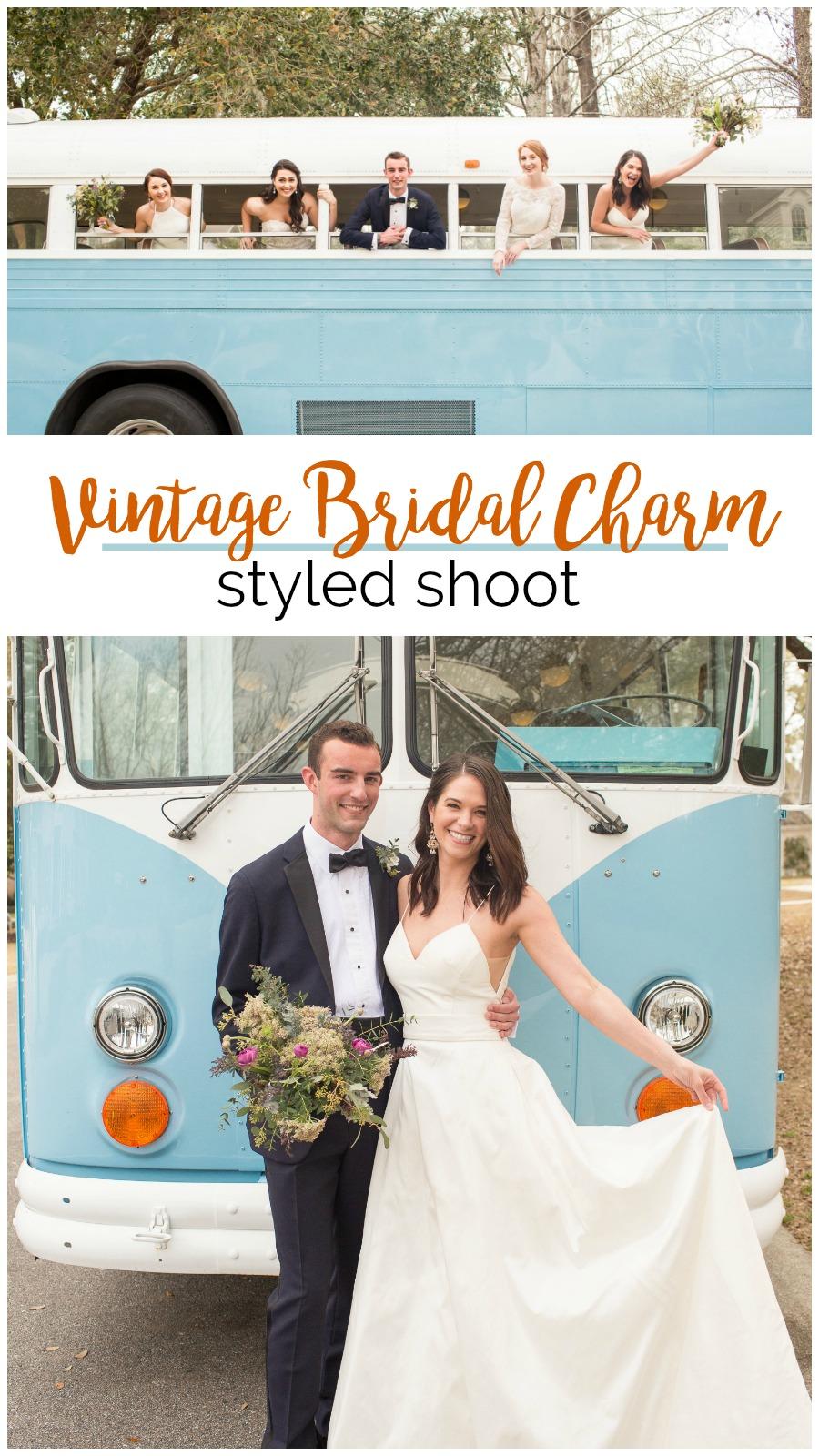 Wedding Inspiration: Vintage Bridal Charm in Charleston, South Carolina | Palmetto State Weddings