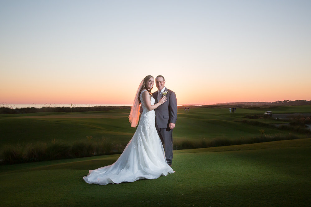 Lauren + Brandon: Golf-themed Kiawah Wedding | Palmetto State Weddings