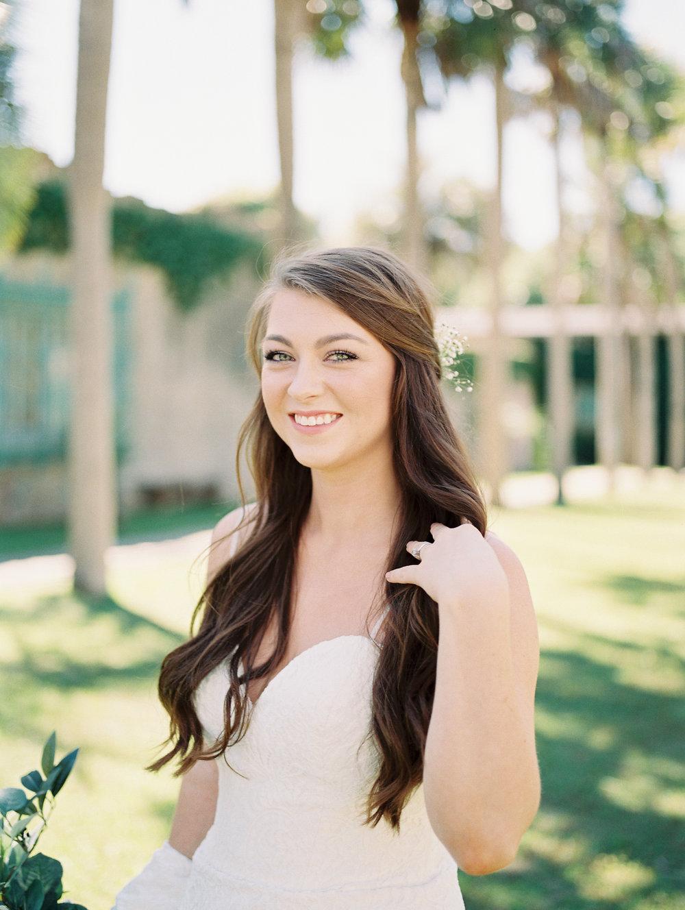 Bridal Session: Allison's Atalaya Castle Wedding Portraits | Palmetto State Weddings
