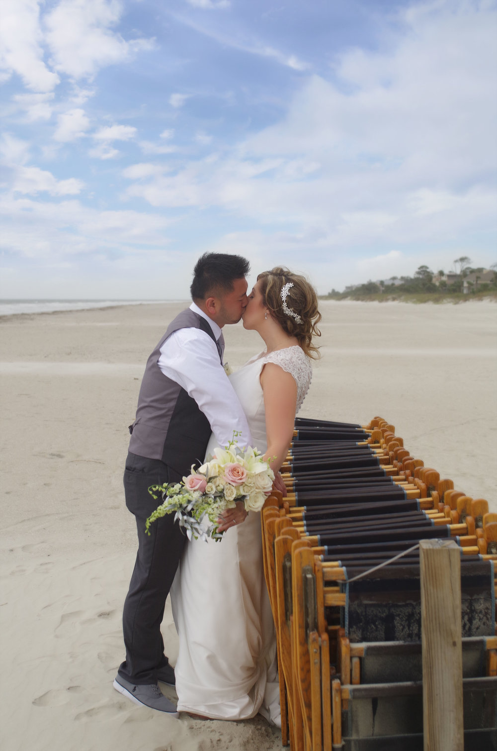 Katie + Eric: Destination Oceanfront Wedding on Hilton Head Island | Palmetto State Weddings
