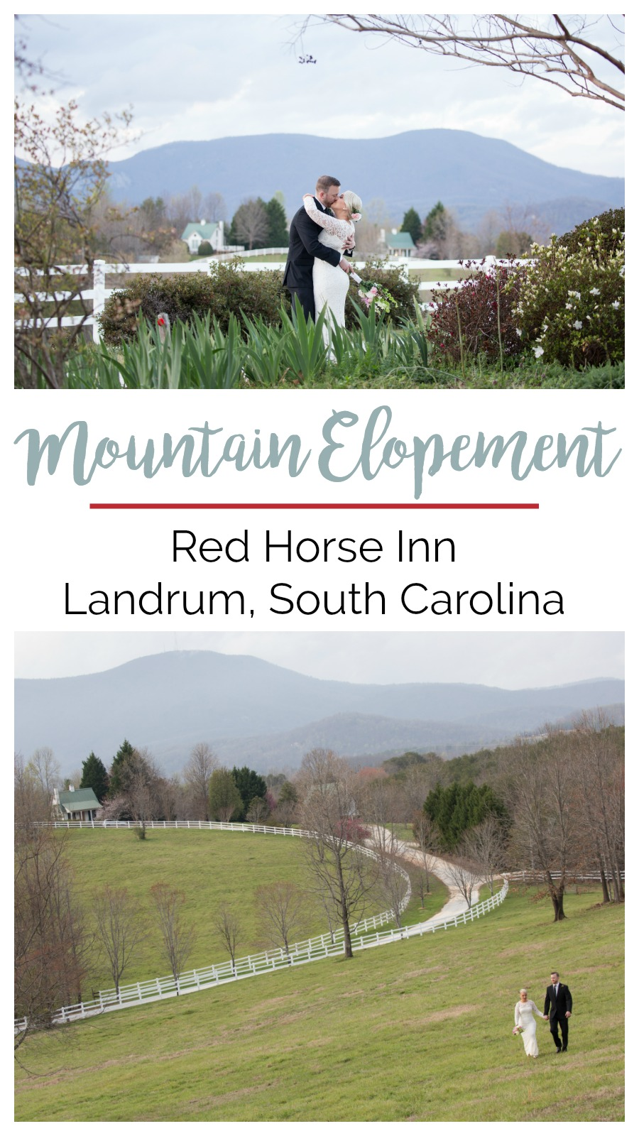 Wedding Inspiration: Elopement at Red Horse Inn, Landrum, South Carolina | Palmetto State Weddings | Greenville weddings | South Carolina mountain wedding