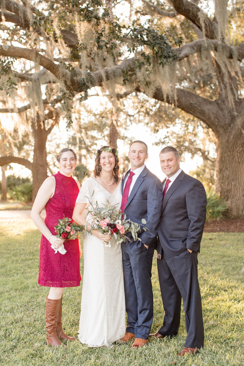 Kristen + Jonathan: Beautiful Beaufort Wedding on the River | Palmetto State Weddings