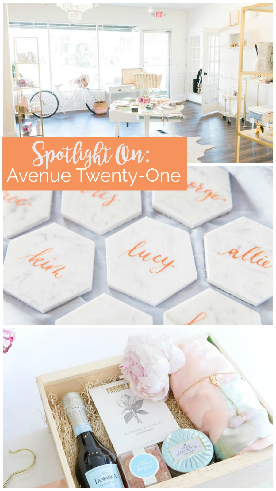 Spotlight On: Avenue Twenty-One | Palmetto State Weddings | wedding gifts in Charleston, South Carolina | wedding stores Charleston South Carolina