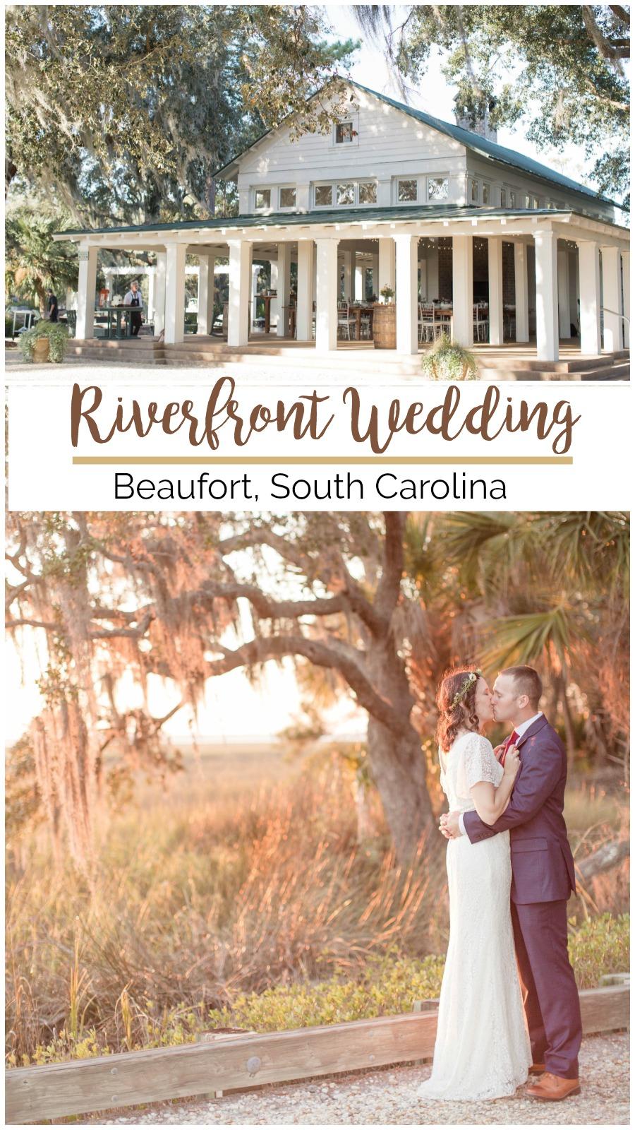 Kristen + Jonathan: Beautiful Beaufort Wedding on the River | Palmetto State Weddings | Demi Mabry Photography | firefighter wedding | intimate wedding inspiration