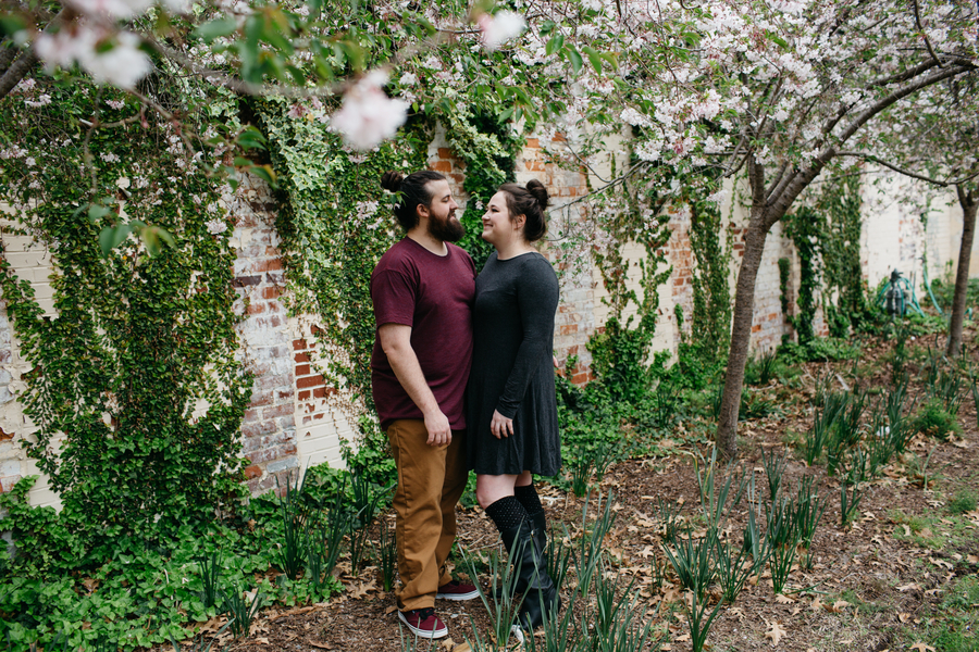 Casey + John: Fun Farmer's Market Engagement Session in Downtown Columbia | Palmetto State Weddings