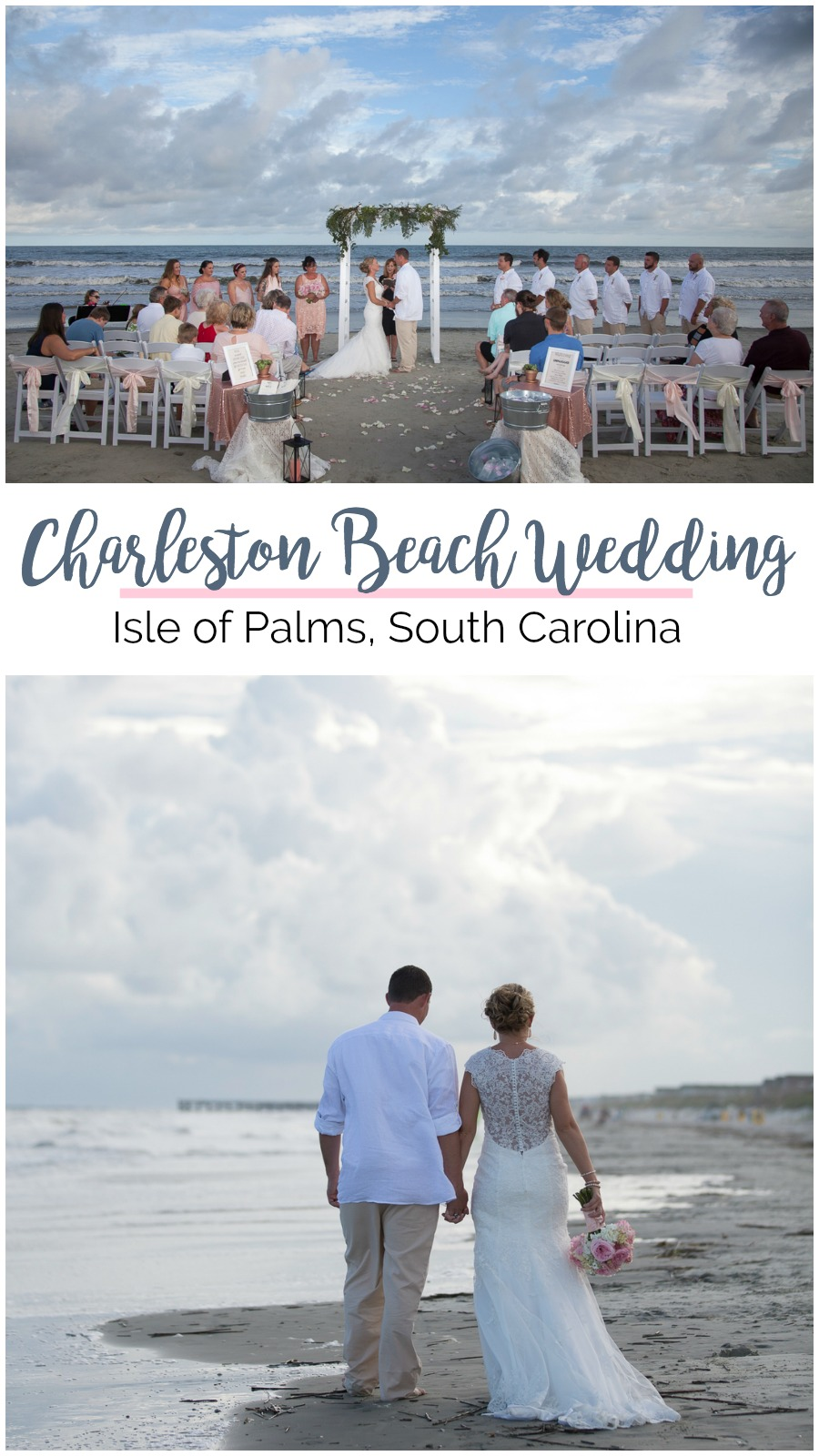 Brittany and Josh: Charleston Beach Wedding on Isle of Palms | Palmetto State Weddings | Kevin Maurice Photography | where to get married on the beach in South Carolina