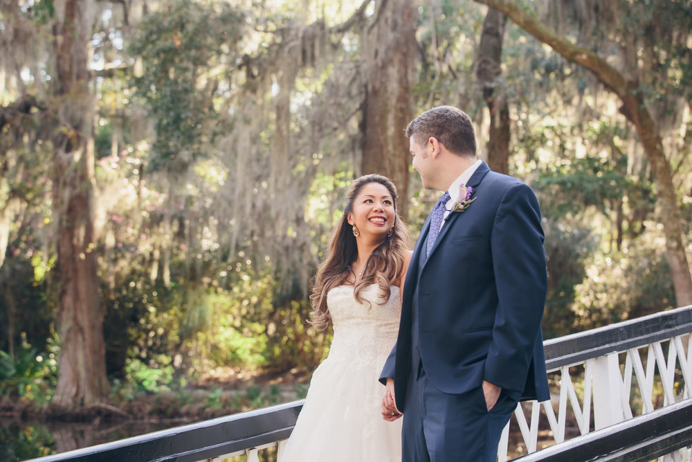 Katrina + Alex: Idyllic Magnolia Plantation Wedding | Palmetto State Weddings