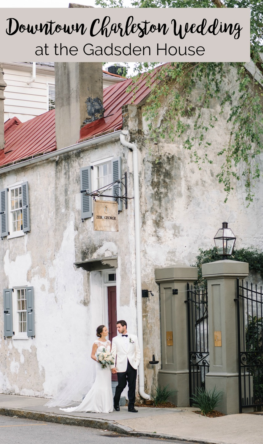 L eslie and Drew: Downtown Charleston Wedding at the Gadsden House | Palmetto State Weddings | charleston sc wedding venue | where to get married in Charleston | southern wedding inspiration