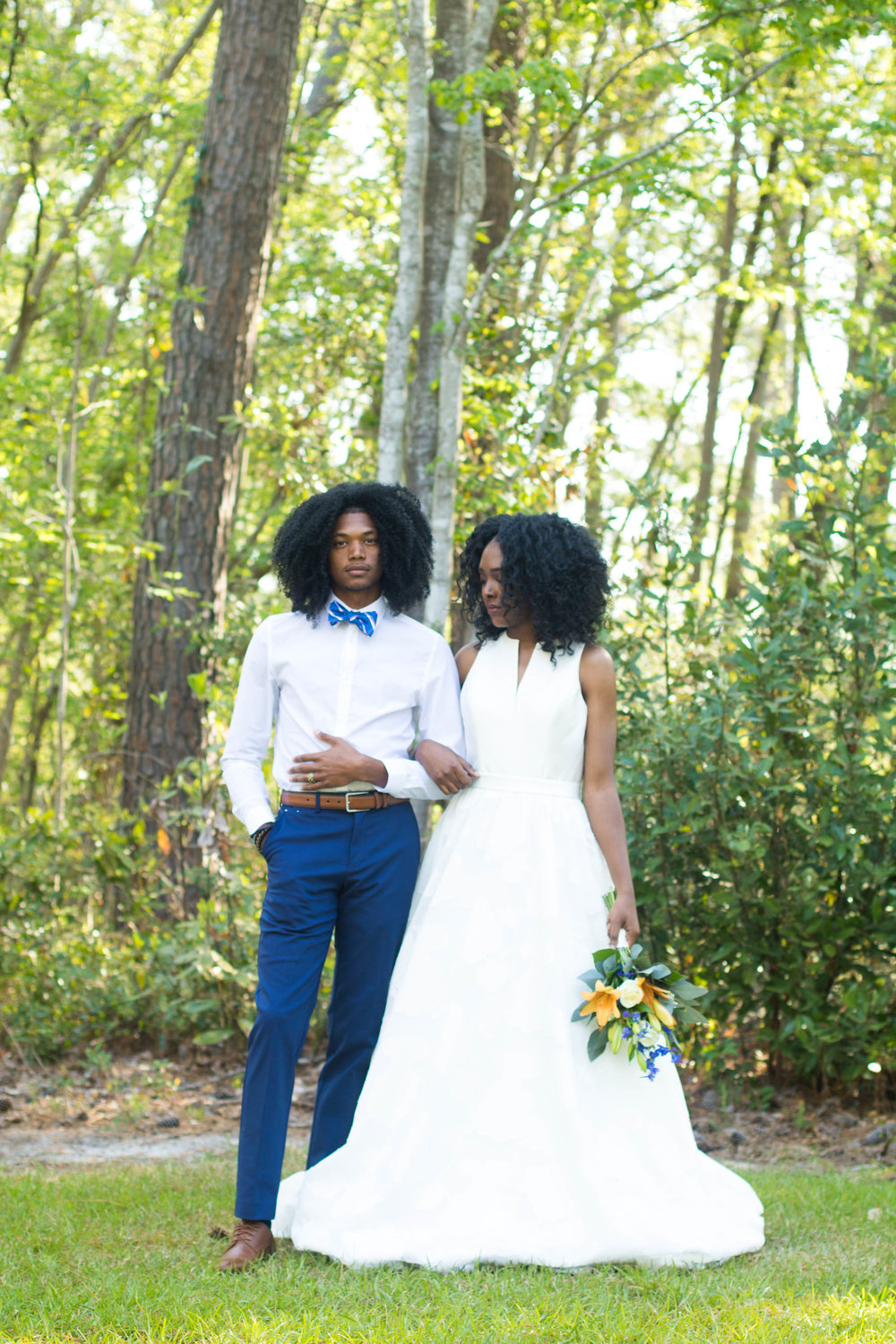 Wedding Inspiration: Simple + Elegant At Home Wedding Styled Shoot | Palmetto State Weddings
