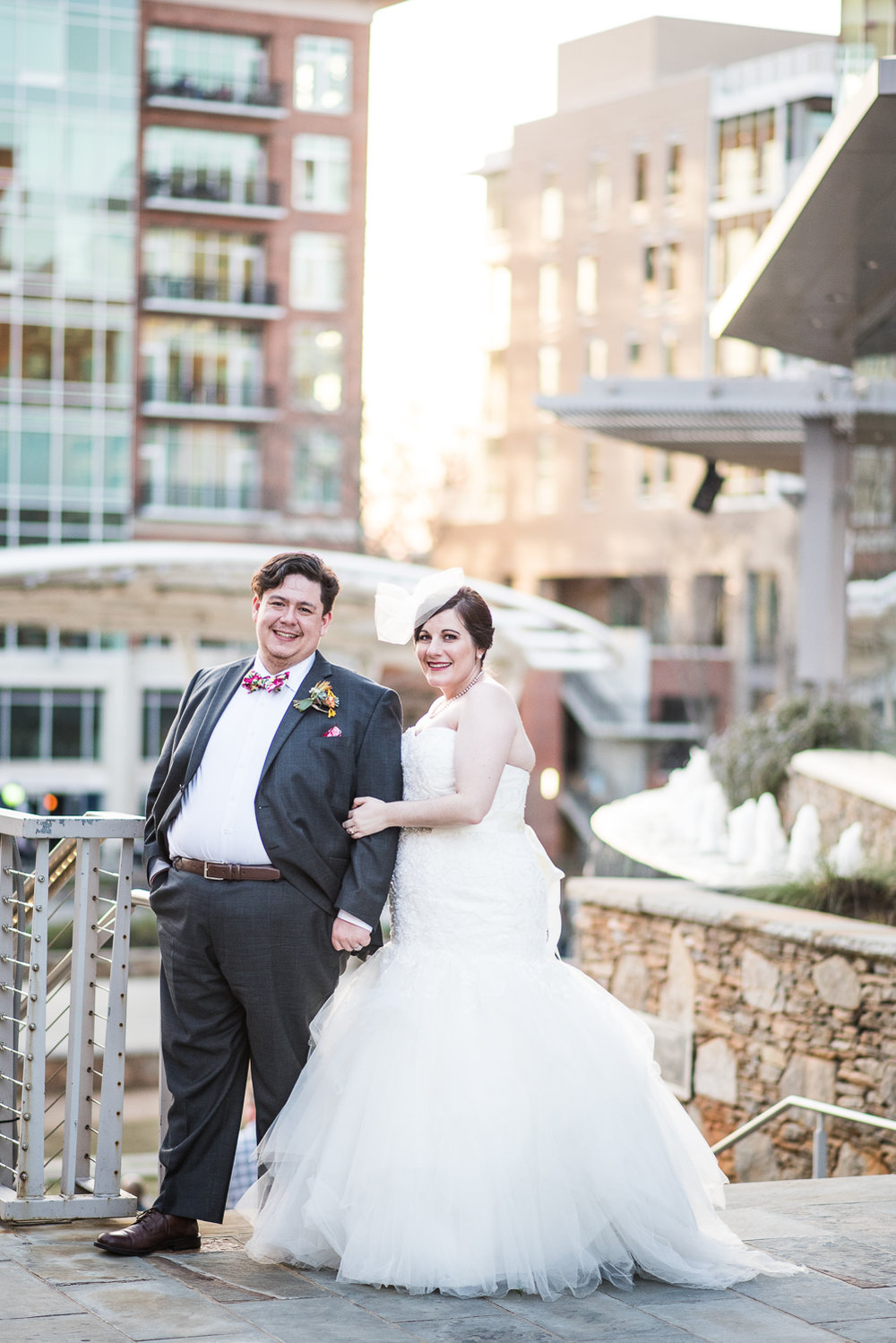 Katy Beth + Phil: Book Themed Wedding in Downtown Greenville | Palmetto State Weddings