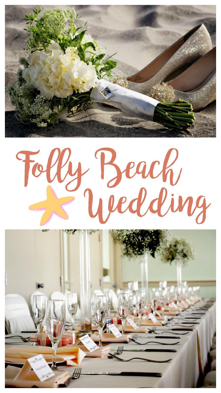 Jennifer + Gary: Sunny Folly Beach Wedding in the Sand | Palmetto State Weddings | Dandelion Wedding Photography | Charleston beach weddings