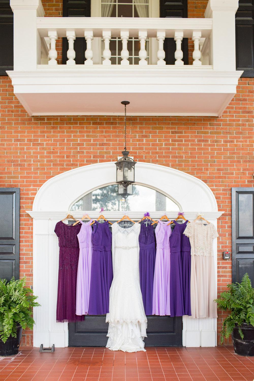 Dani + Sam: Purple-Inspired Country Club Wedding in Greenville | Palmetto State Weddings
