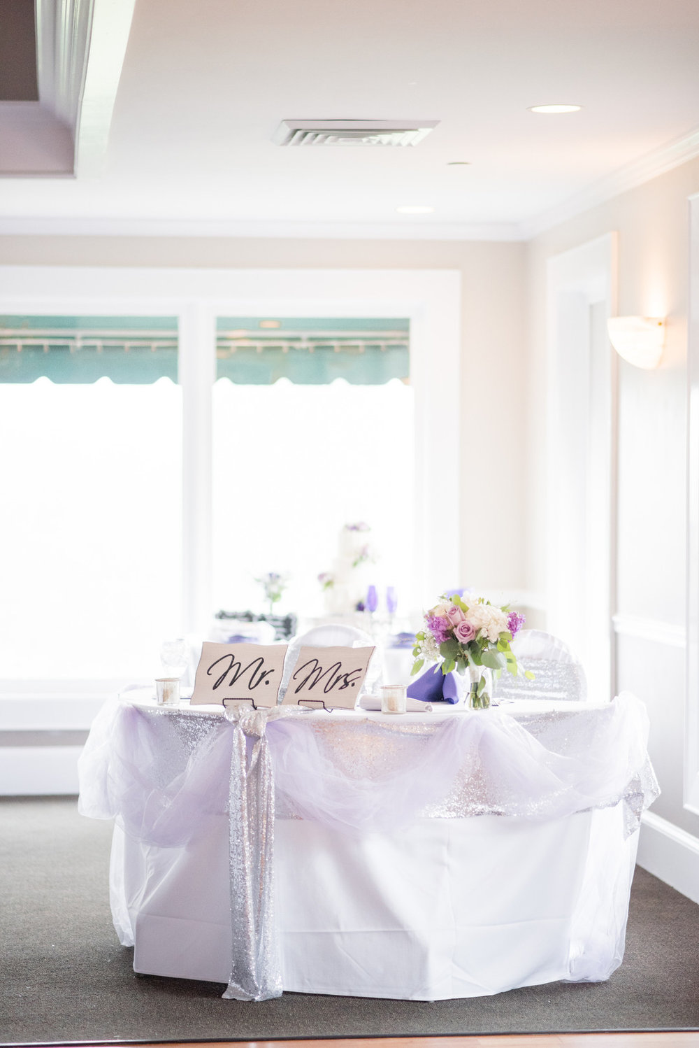 Dani + Sam: Purple-Inspired Country Club Wedding in Greenville ...