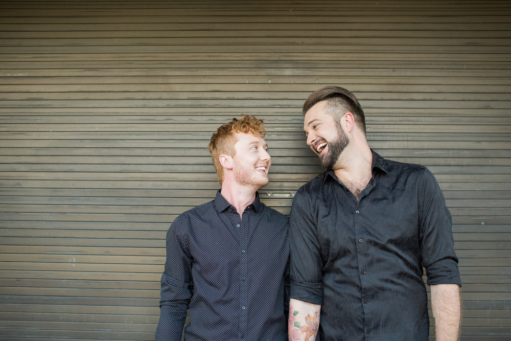 Daniel + Cameron: Sweet Summer Engagement Session in Downtown Columbia } Palmetto State Weddings