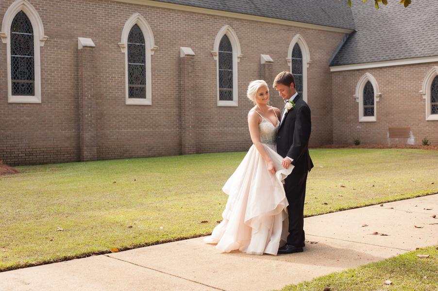 Carolina + Aaron: Hometown Wedding in Mayesville, South Carolina | Palmetto State Weddings