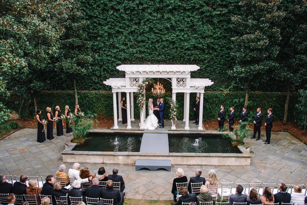 Kristen + Robert: Christmas-themed William Aiken House Wedding   Palmetto State Weddings
