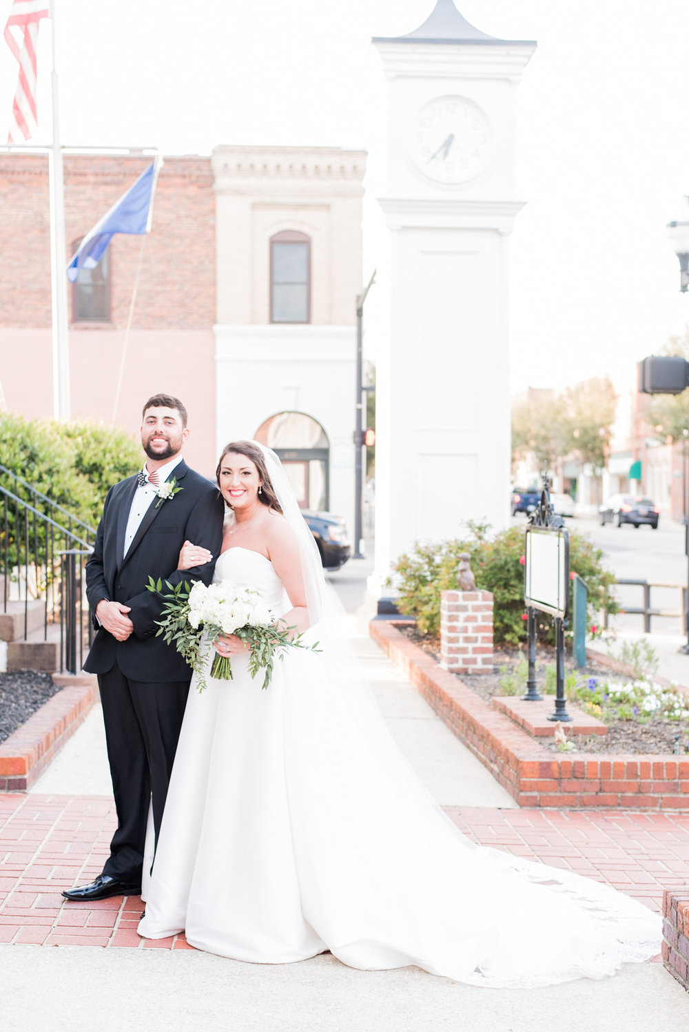 Hailey + Hunter: Southern Church Wedding in Conway, South Carolina | Palmetto State Weddings