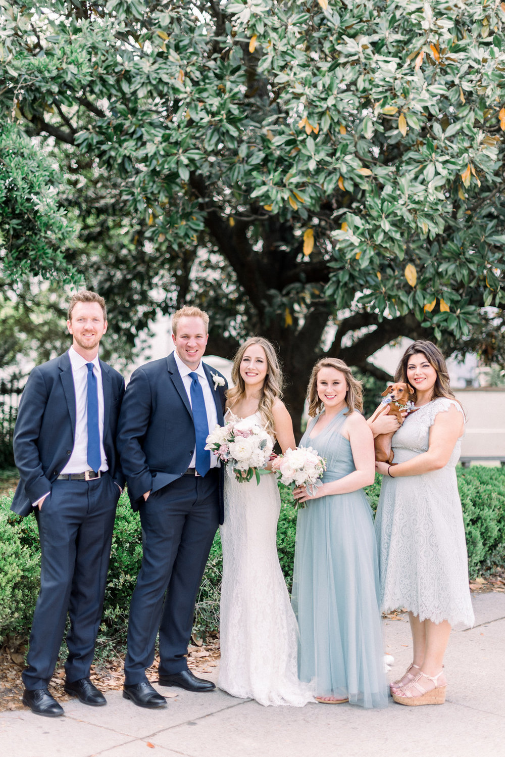 Sara + Gabe: Intimate Charleston Wedding at White Point Garden | Palmetto State Wedding
