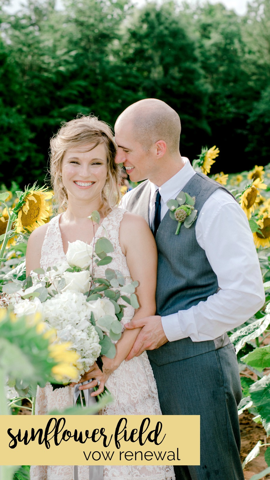 Lauren and Chris: Sunflower Farm Wedding and Surprise Vow Renewal | Palmetto State Weddings | Jessica Drew Photography | South Carolina weddings | outdoor wedding inspiration
