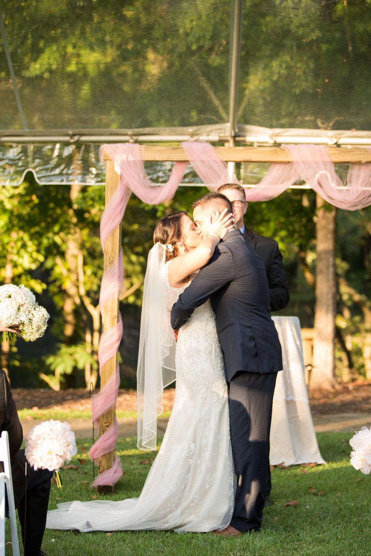 Jessica + Tripp: Saluda River Club Wedding with Blush Pink Accents | Palmetto State Weddings